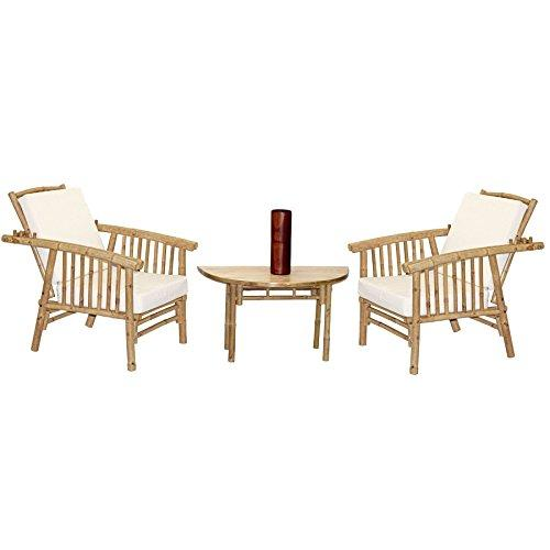 4 Piece Miking Chairs and Semi Round Table Set
