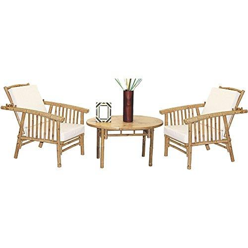 5 Piece Mikong Chairs and Oval Table Set