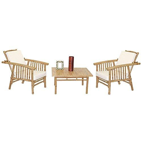 5 Piece Mikong Chairs and Square Table Set