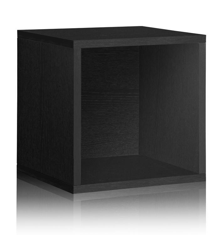 Way Basics Eco Stackable Vinyl Record Cube Storage