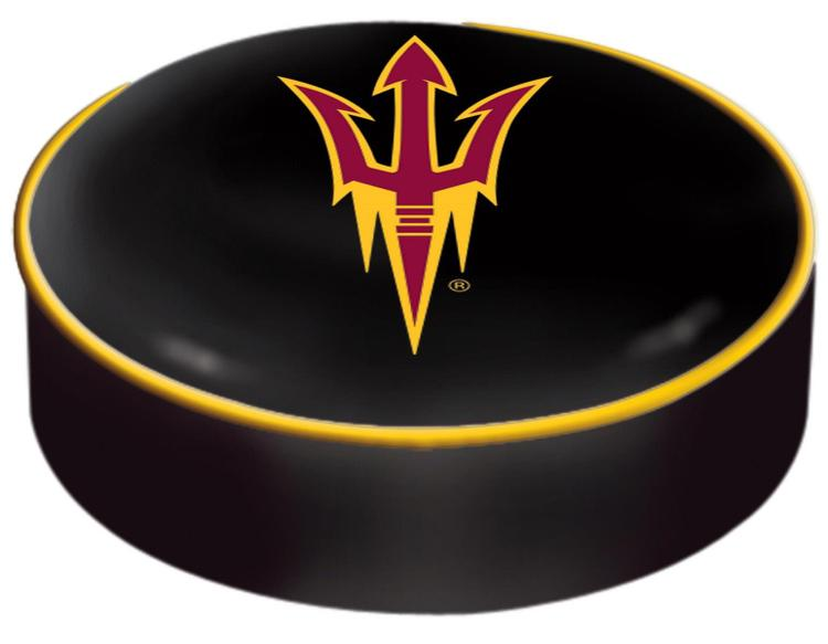 Arizona State Seat Cover with Pitchfork Logo