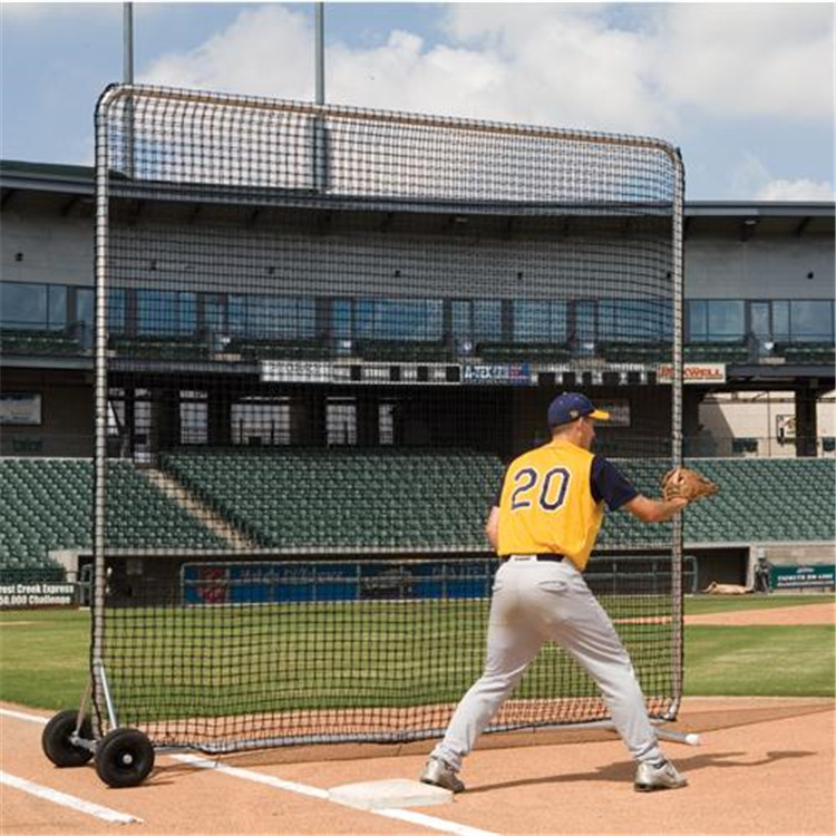 BSN Sports Pro Base Fungo Screen 8' X 8' [Item # BSFPRO8]