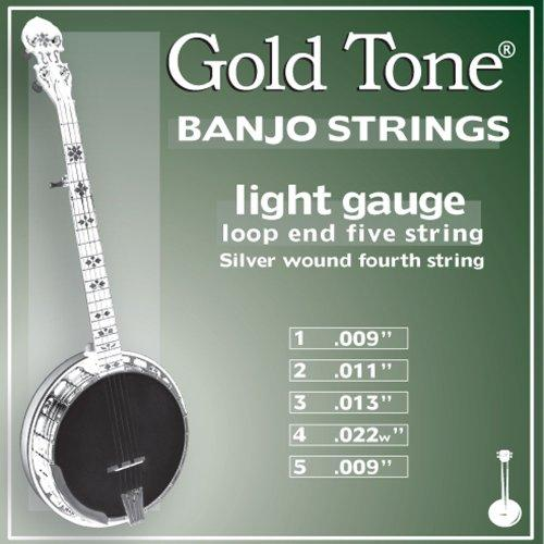 Light Gauge Banjo Strings