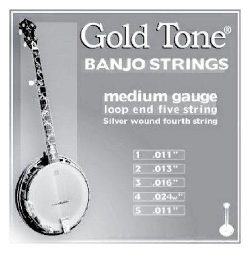 Medium Gauge Banjo Strings