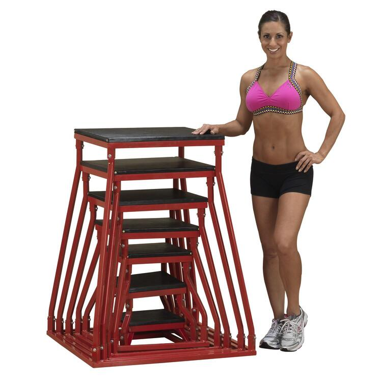 Body Solid 12-24 Plyo Box Set
