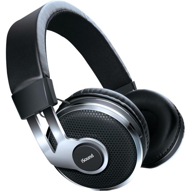 On Ear Bluetooth Headphones Black