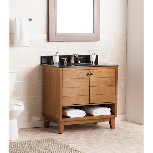 SEI Ridglea Bath Vanity Sink With Granite Top