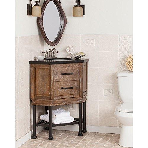 Bainbridge Corner Bath Vanity Sink With Granite Top