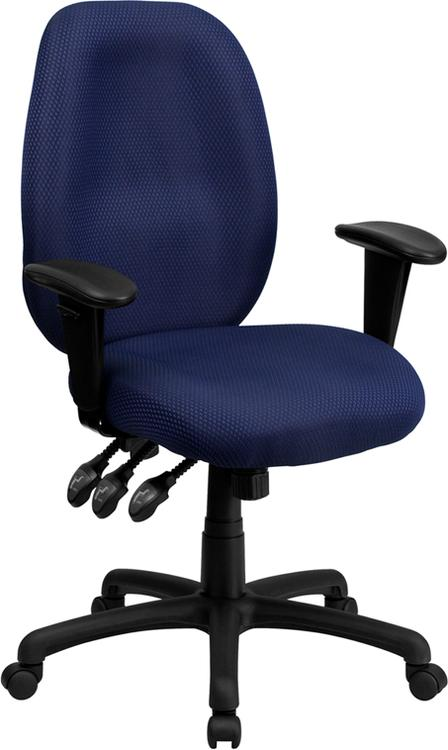 High Back Fabric Multifunction Ergonomic Executive Swivel Chair