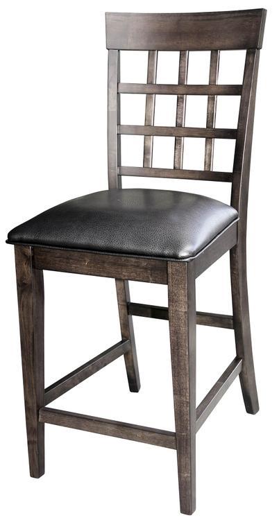 A-America Bristol Point Lattice back Counter Chair