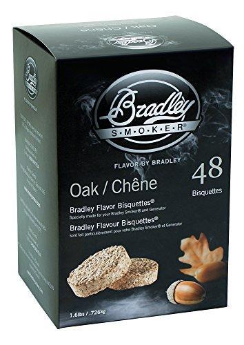Bradley Flavor Bisquettes - Oak 48Pk