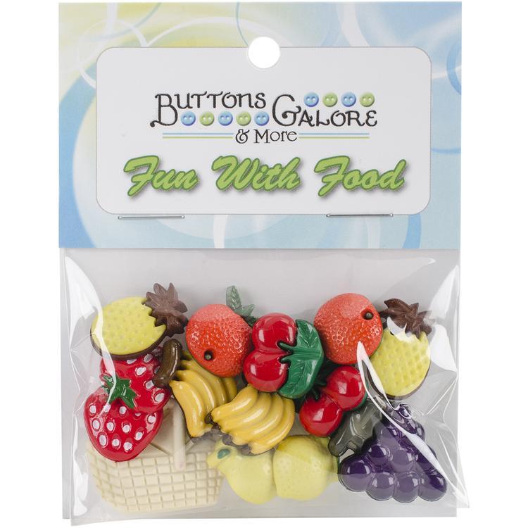 Button Theme Pack-Fruit Basket