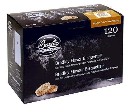 Bradley Flavor Bisquettes - Whiskey Oak 120Pk