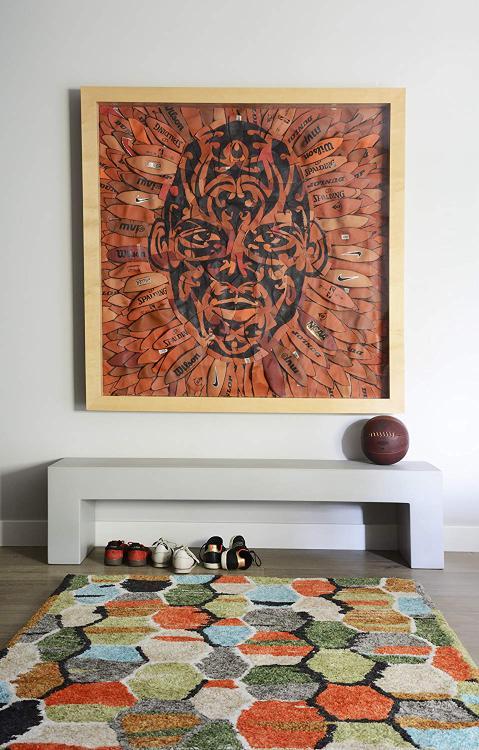 Novogratz Bungalow Collection Tiles Area Rug, 3'6
