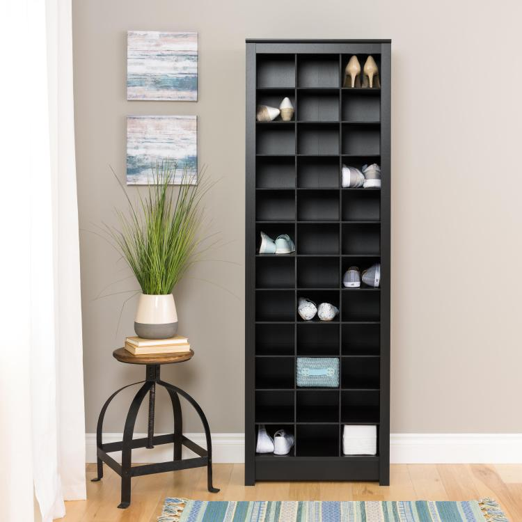 Space-Saving Shoe Storage Cabinet