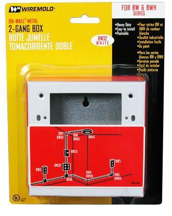 Bw32 Box Outlt 2G Mtl Wht