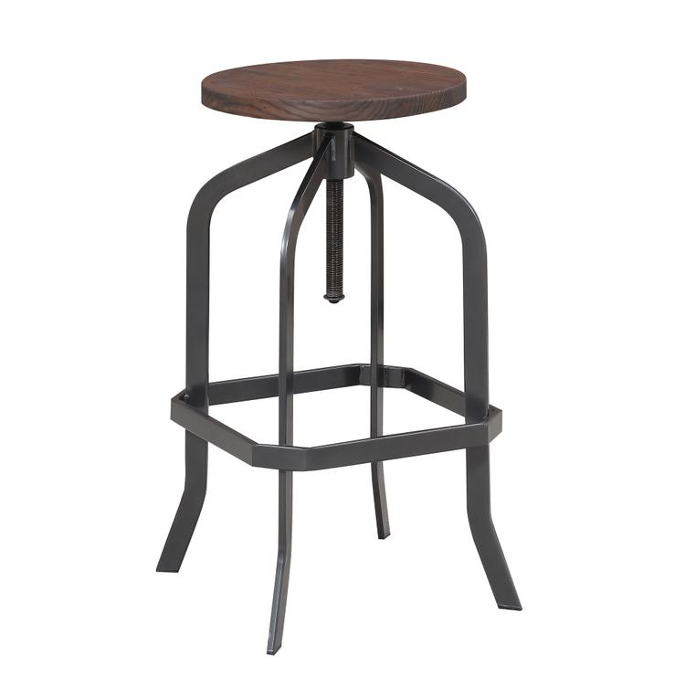 Picket House Furnishings Court Adjustable Backless Bar Stool