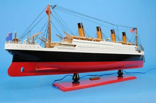 Old Modern Handicrafts Titanic with Lights Collectible [Item # C057A]