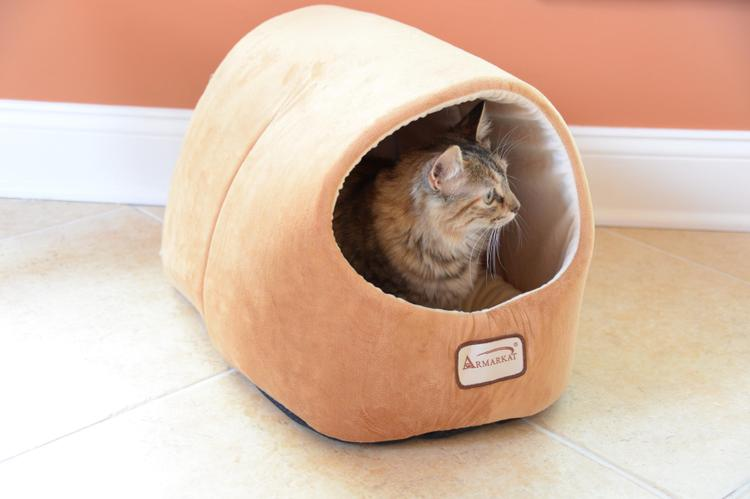 Armarkat Burrow Pet Cat Bed