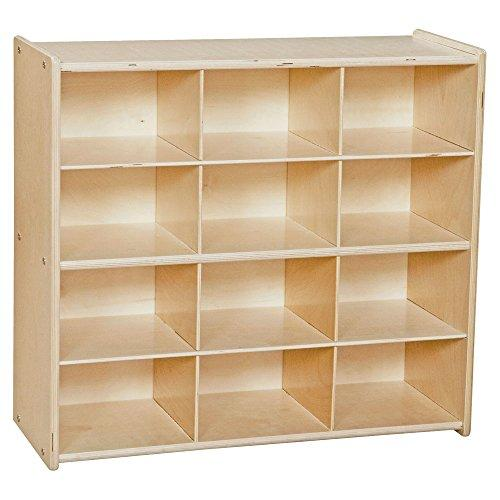 Contender? Baltic Birch 12-Cubby Storage Unit w/out Tubs - RTA