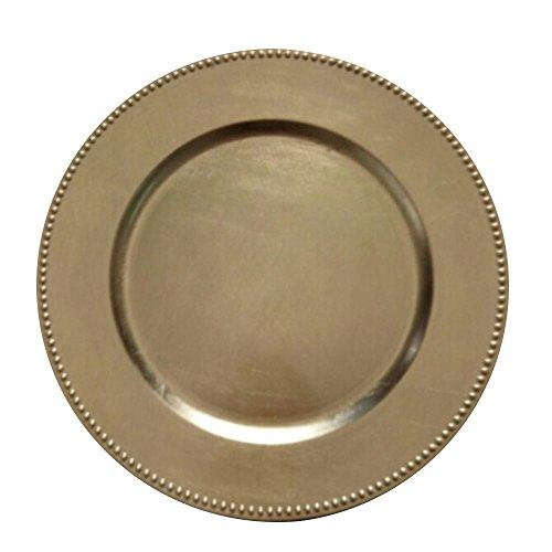 Gold Charger Plate Set of 24 by Urban Port