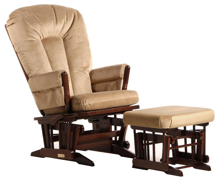 Dutailier Colonial Glider-Multiposition, Recliner And Nursing Ottoman