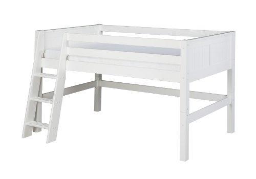 Camaflexi Twin Size Low Loft Bed