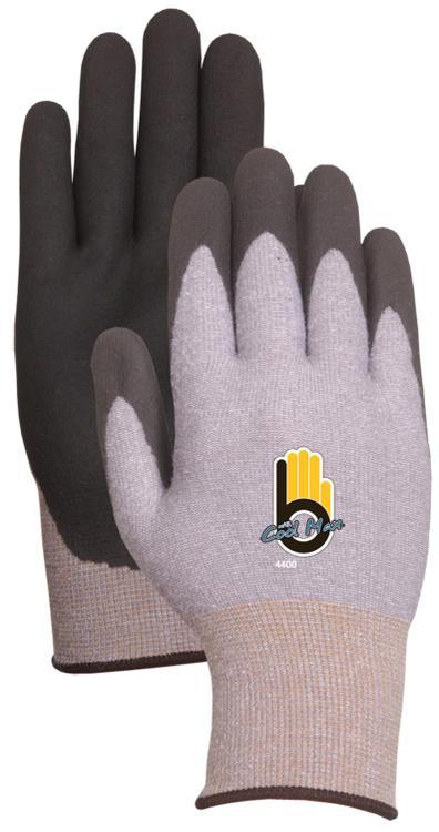 C4400Xxl Glove Knit Gray Xxl