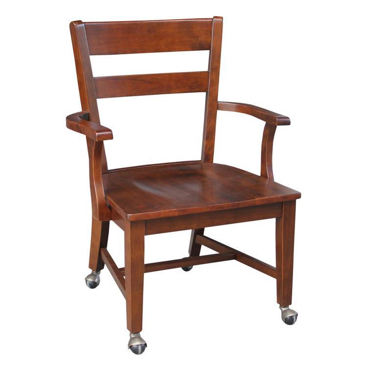 International Concepts Arm Chair Matching Desks