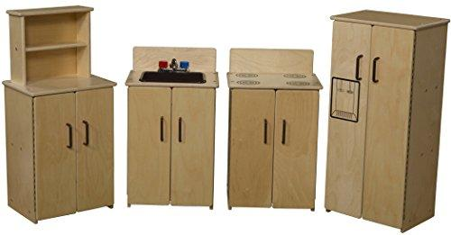 Contender Set of Four Appliances in Brown-  Assembled