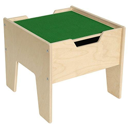 Contender? 2-N-1 Activity Table with Green LEGO? Compatible Top - RTA
