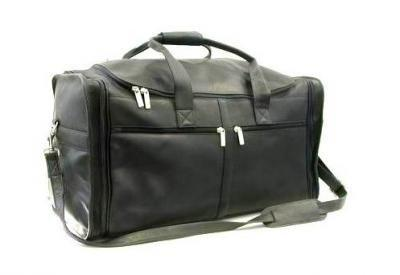 Lrg Top Zip Duffle W/Shoe Compartemt