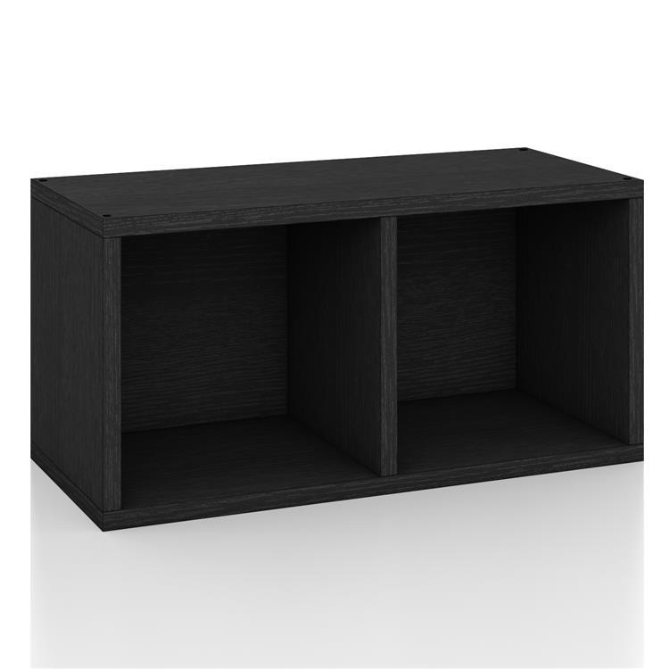 Way Basics Connect Shelf Rectangle Bookcase