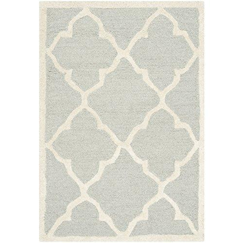 Cambridge Coral/Ivory Square Rug