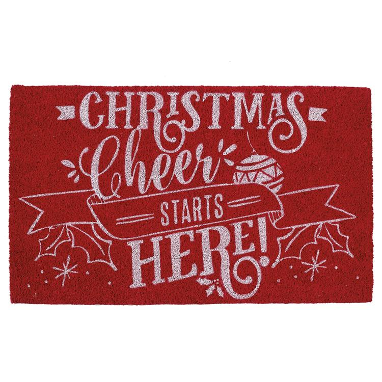 Christmas Cheer Doormat