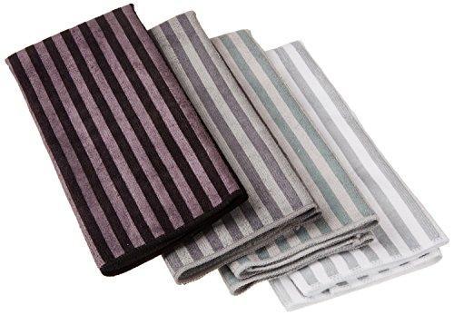 Stripe Mf Twl Gray S/4