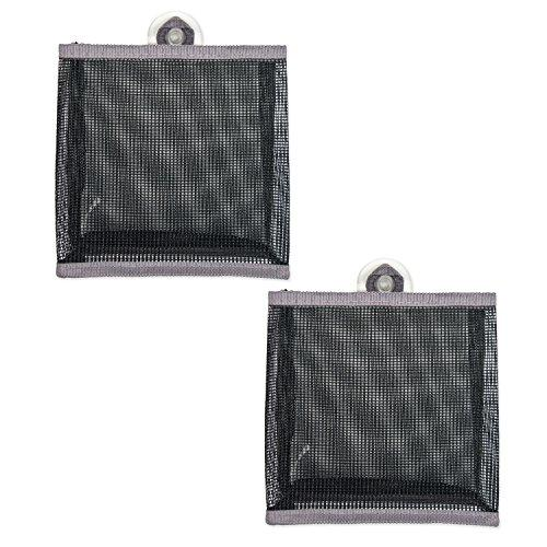 Design Imports Bath Mesh Bag Small Gray Set Of 2