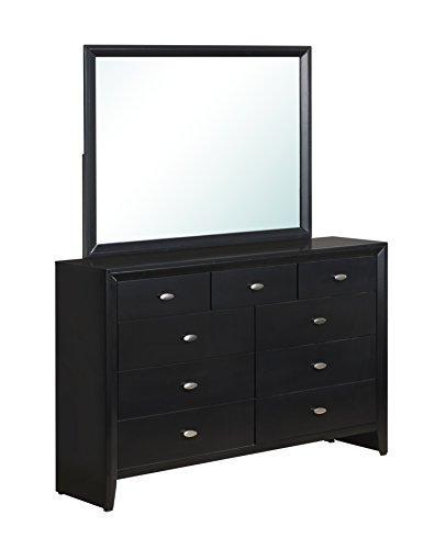 Global Furniture Mirror Black/Black