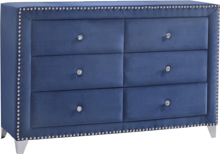 Meridian Furniture Caroline Velvet Dresser
