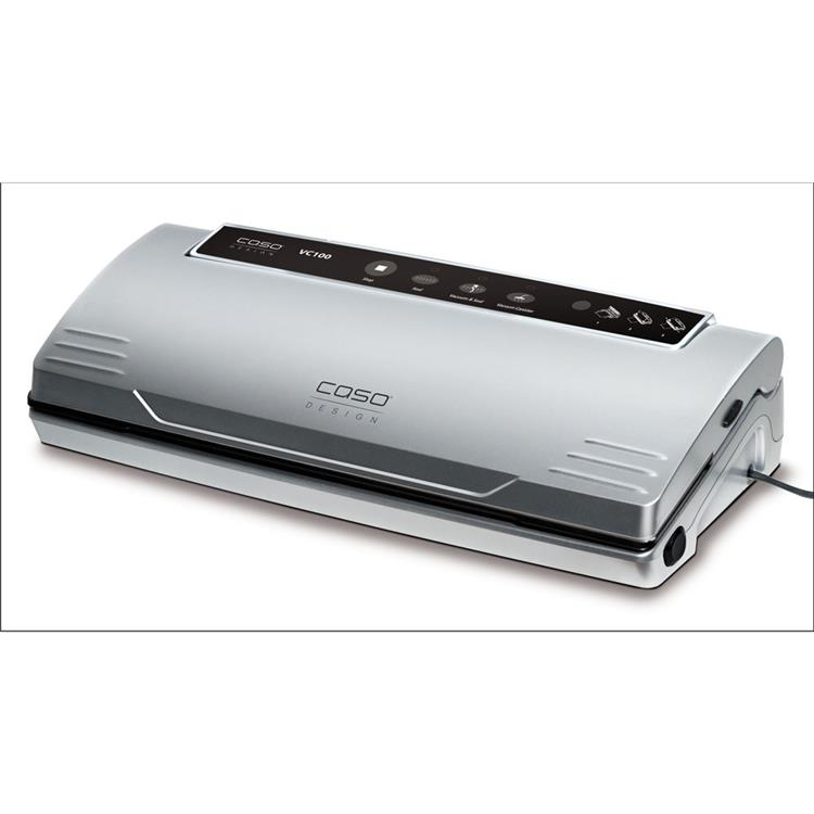 Caso VC 100 Food Vacuum Sealer with Food Vacuum Hose and Food Management App