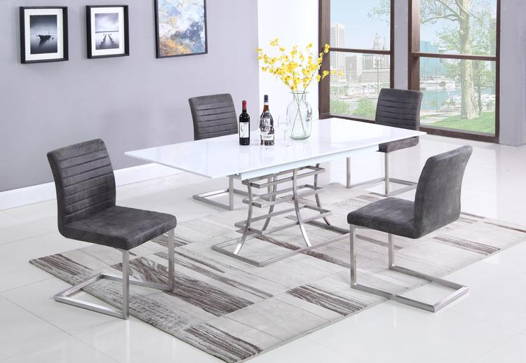 Chintaly CASSIDY-5PC (1 TABLE + 4 CHAIRS)