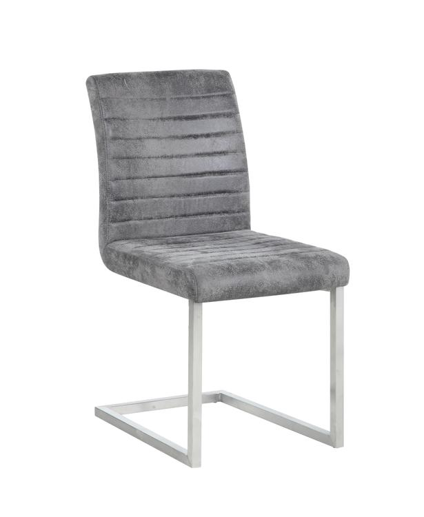 Chintaly Channel Back Cantilever Side Chair