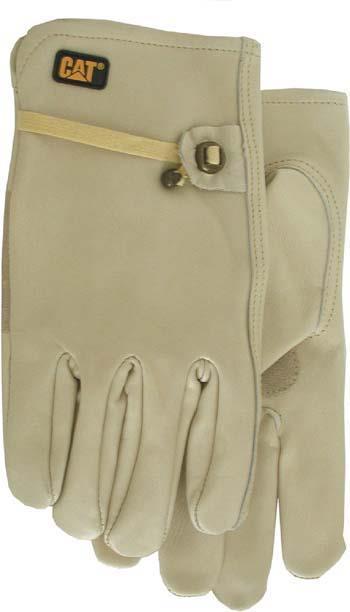 Cat012110L Glove Drivr Lthr Lg