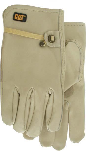 Cat012110M Glove Drivr Lthr Md