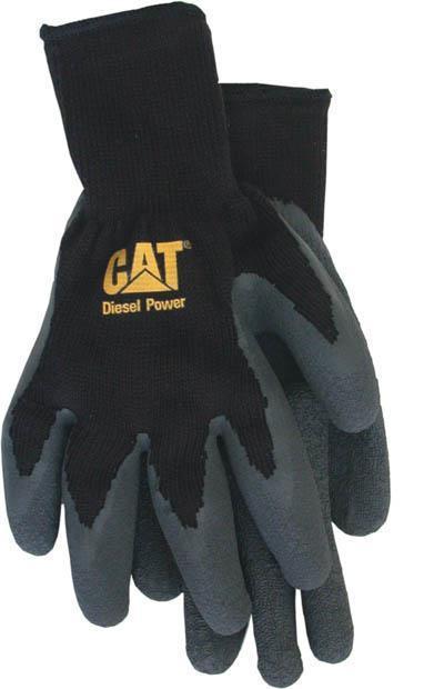 Cat017400L Glove Latx/Cottn Lg