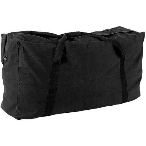 22 oz. Oversized Canvas Zippered Duffle Bag