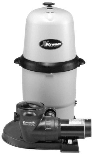 XStream 1.5 Hp Above-Ground Pool Filter Pump System with Twist Lock Cord