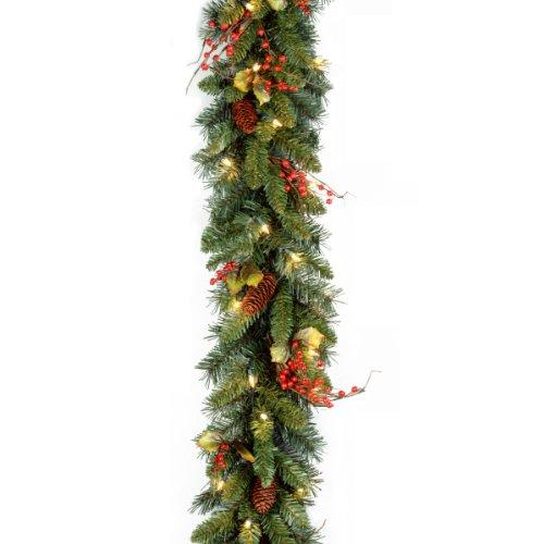 Classical Collection Garland with Clear Lights