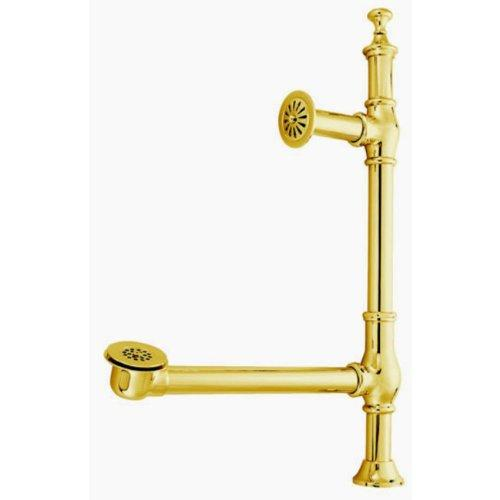 Kingston Brass Vintage Edwardian British Lever Style Clawfoot Tub Waste and Overflow Drain