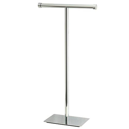 Kingston Brass CC8101 Claremont Freestanding Toilet Paper Stand, Polished Chrome